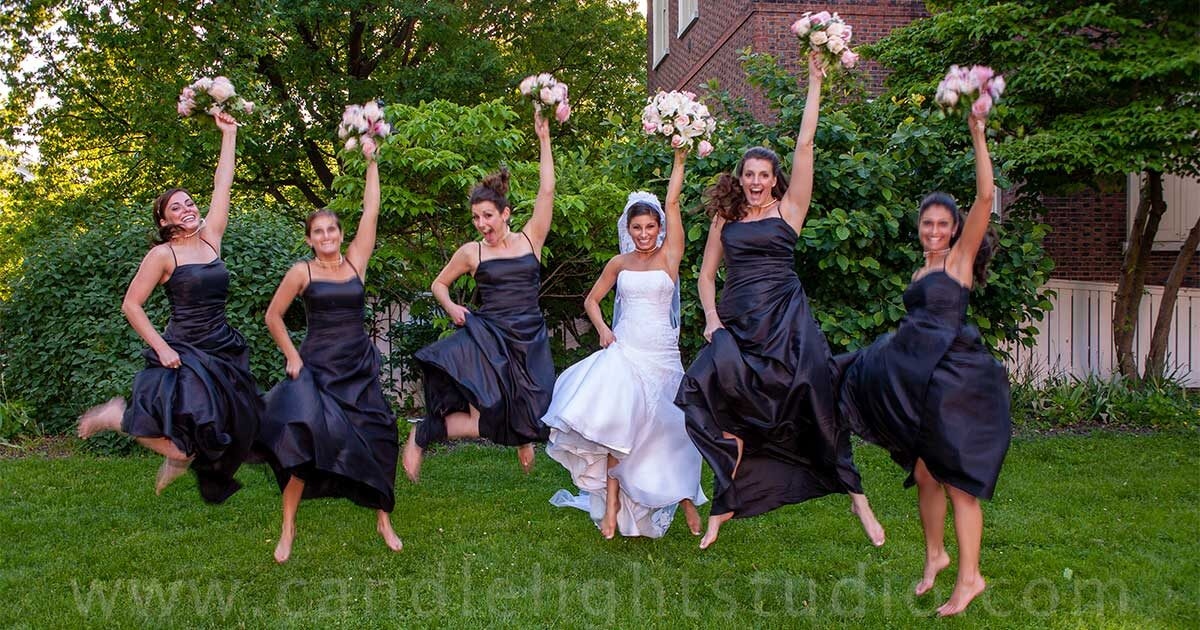 Capture Your Bridal Party Photos With Music Of Your Special Day