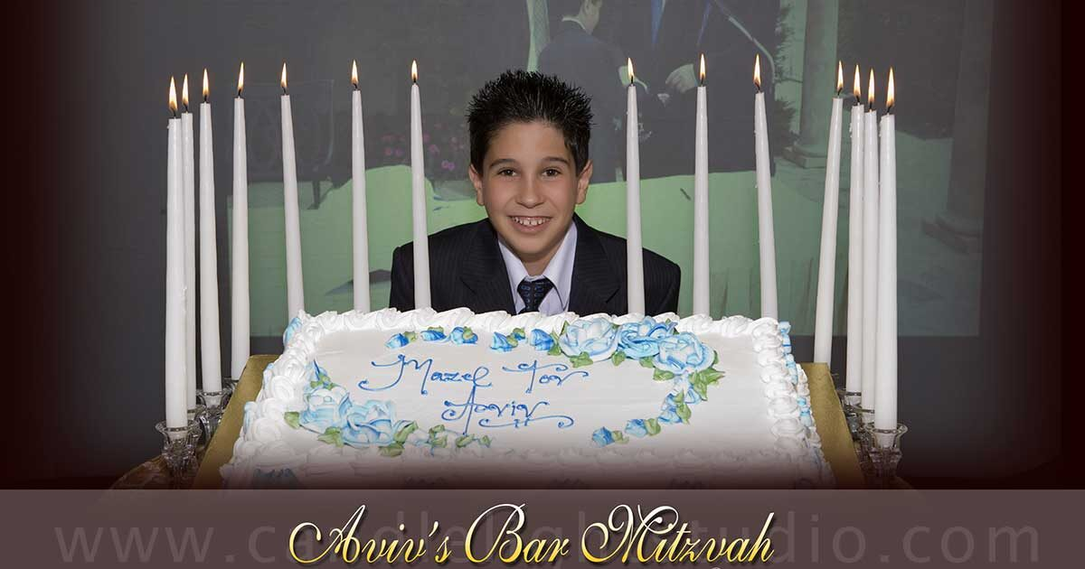 Save the emotional memories at Bar Mitzvah